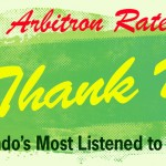 Arbitron Rated #1: Thank You: Orlando's Most Listened to Radio Station